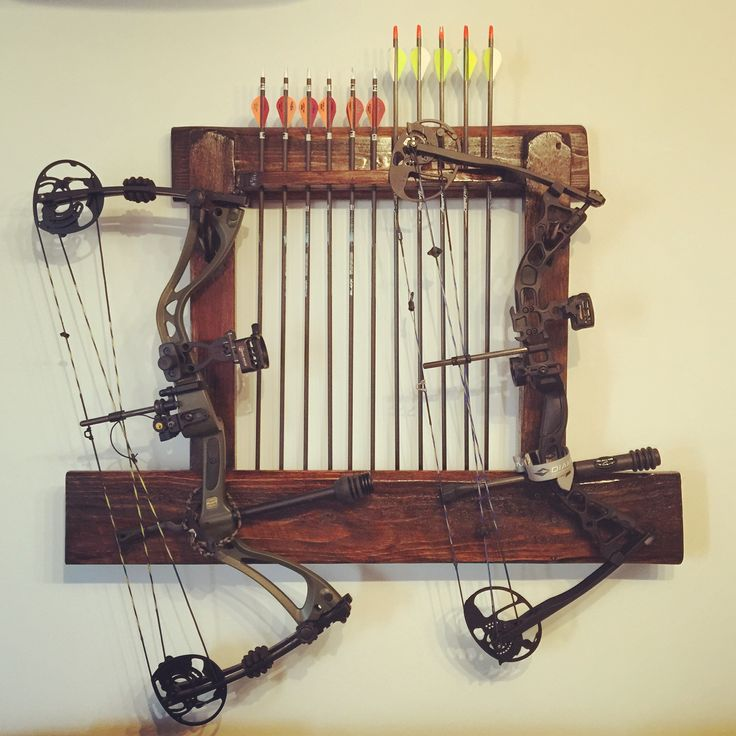 25+ unique Bow rack ideas on Pinterest | Archery hunting ...