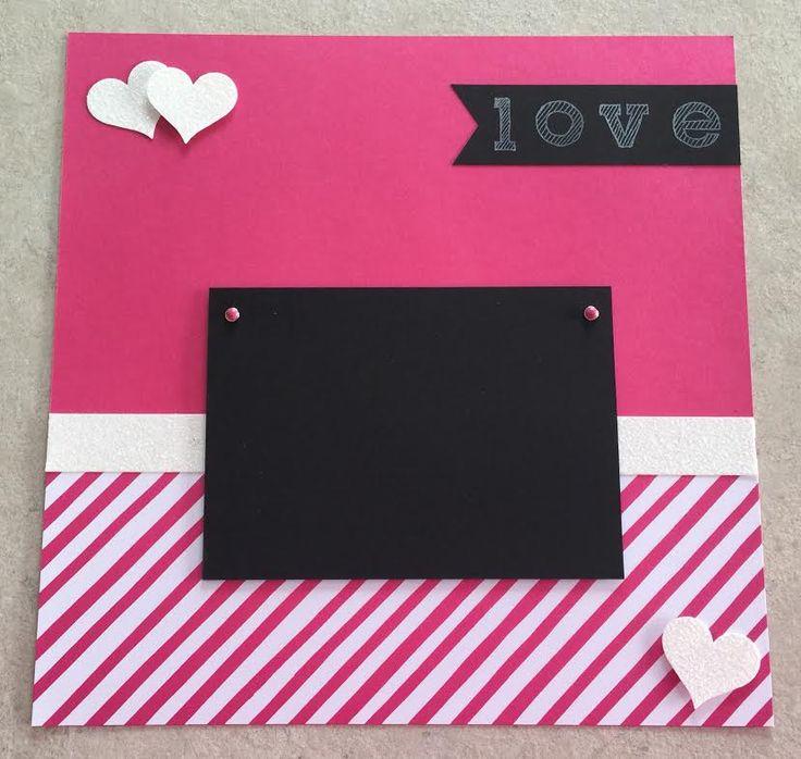 My pink stamper more pink stamper scrapbooking layouts my pink stamper