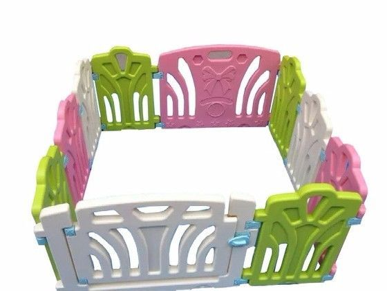 http://www.shopplaypens.co.za/product/baby-playpen/Size:1.15 x 1.15m9 panels plus 1 gate per setWhite, green, pink and blue