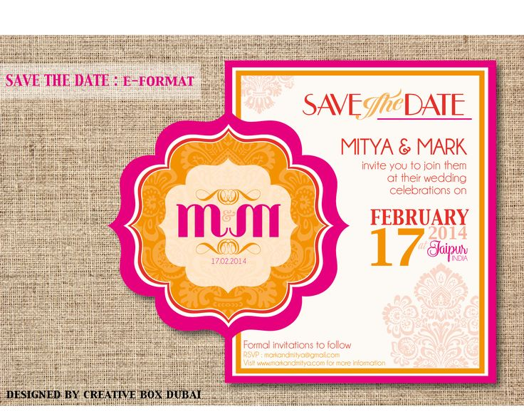 27 best Wedding Invitations images on Pinterest Uae, Wedding - format for invitation