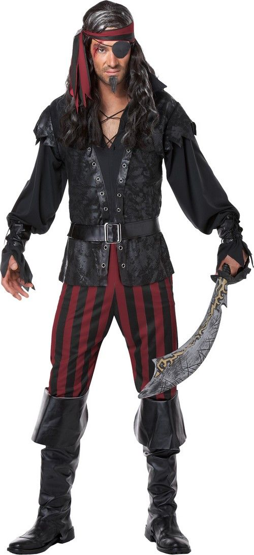 deguisement pirates hommes bottes