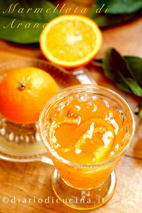 marmellata di arance  ricetta Ferber