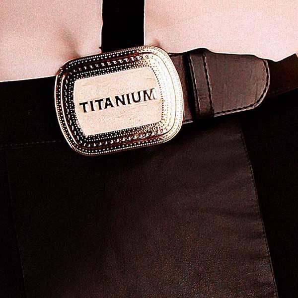Cinto Preto Titanium Jeans