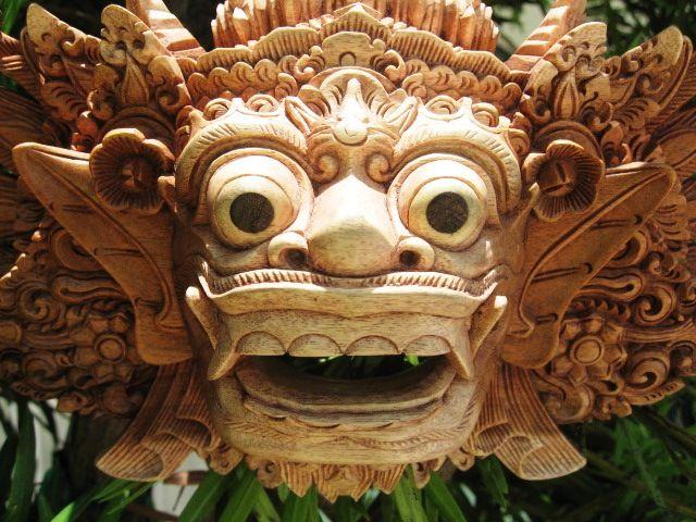 Barong Balinese Mask
