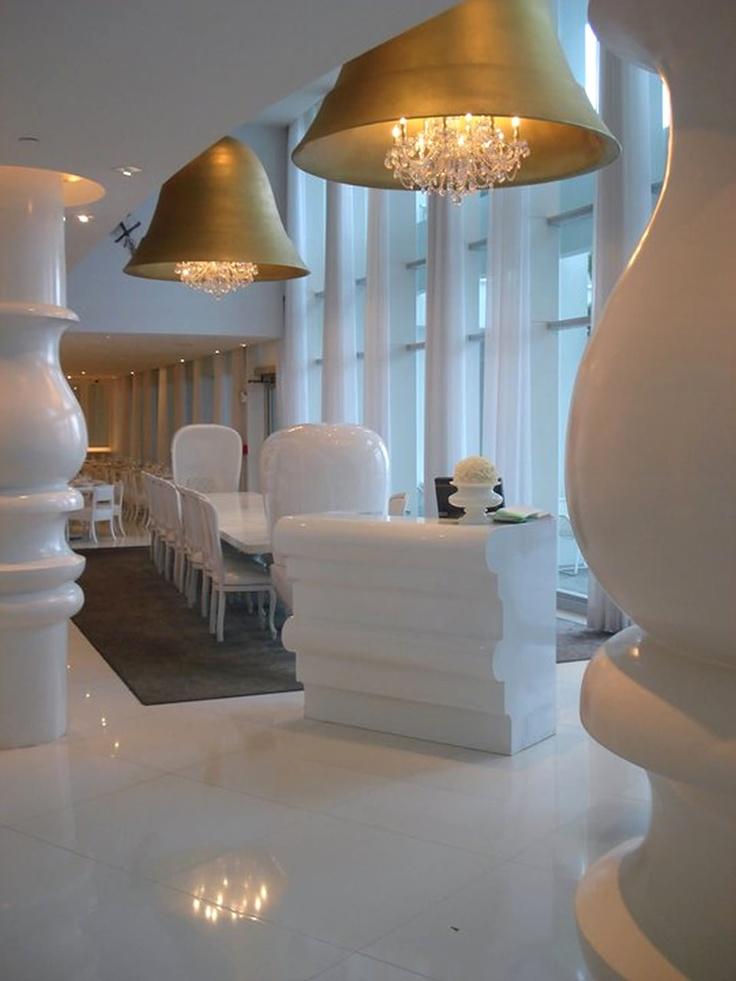 Restaurant Hospitality Interior Lighting Of Asia De Cuba Miami