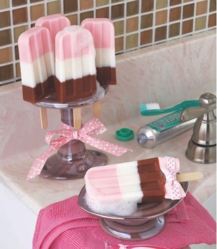DIY Soap that looks like Ice Cream!
