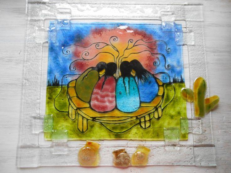 HERMANADAS (34x38 cm) El diseño es de la artista Ayla Bouvette