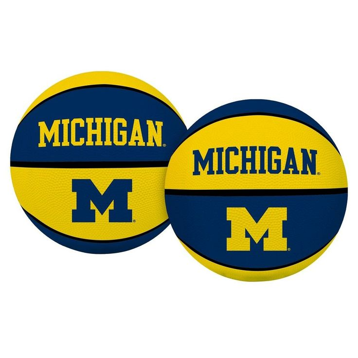 NCAA Rawlings Crossover Basketball Michigan Wolverines