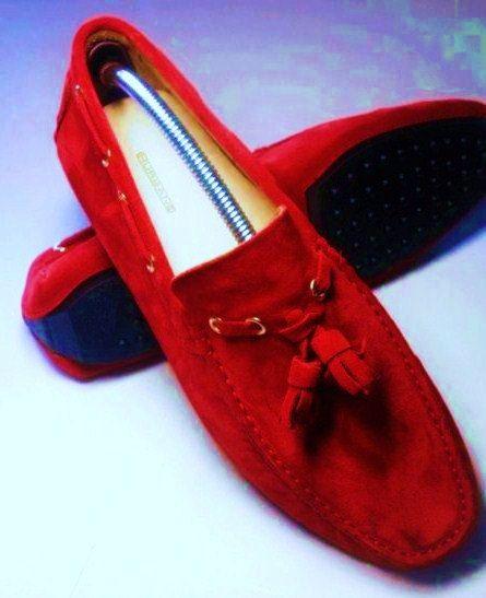 Mocassino  Modello Car Shoes Realizzato a di Atelierdelrettile