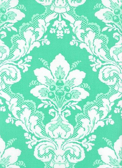 Captivating Tea Cakes   Faded Wallpaper   Mint Green US $10.50
