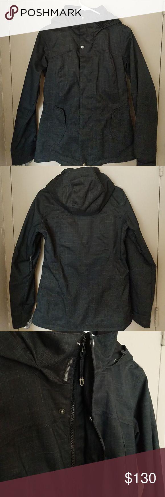 Burton Ski/Board Jacket Women's Medium Slate Blue ski or snowboarding jacket. Worn one season. Big front pockets and pit zips Burton Jackets & Coats