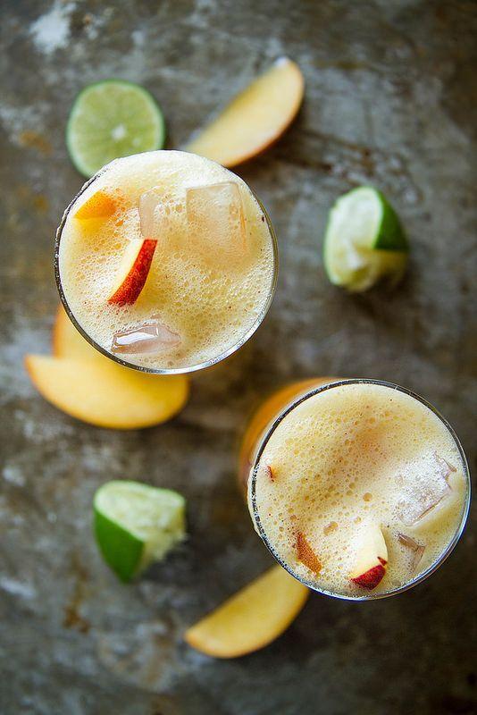 Peach Moscow Mule #peach #moscowmule #cocktail