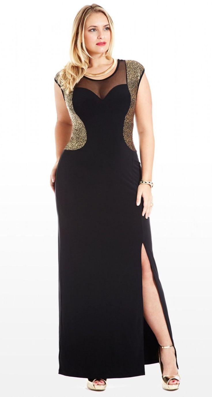 Precioso vestido de fiesta para gordita  http://aix0.com/guapasygorditas/index.php/trajes-sastre-para-gorditas-una-alternativa-para-damas-modernas/