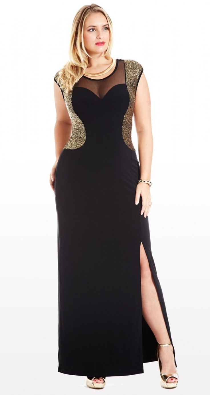 plus size evening dresses kohls