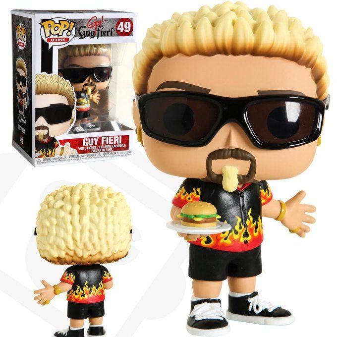 Guy Fieri Unboxed Funko Pop Collection Funko Pop Dolls Custom Funko Pop
