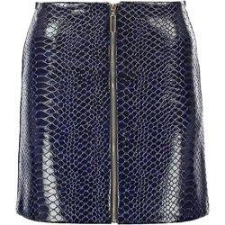 Miss Selfridge Spódnica mini blue