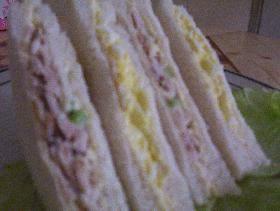 卵サンドウィッチ