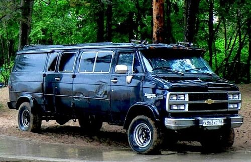 chevy van g30 4x4 auto usa pinterest chevy vans 4x4 and chevy. Black Bedroom Furniture Sets. Home Design Ideas