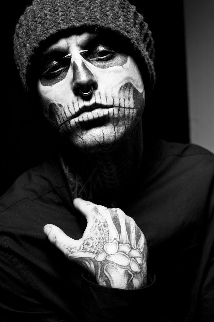 """Rick Genest """"Zombie Boy"""" #tatts #ink #tattoo"""