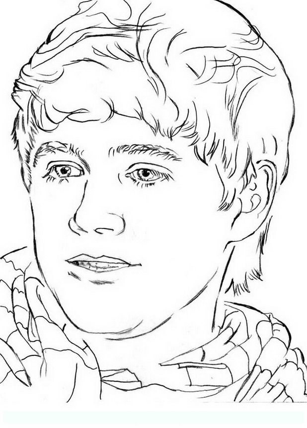 chibi one direction coloring pages - photo#21