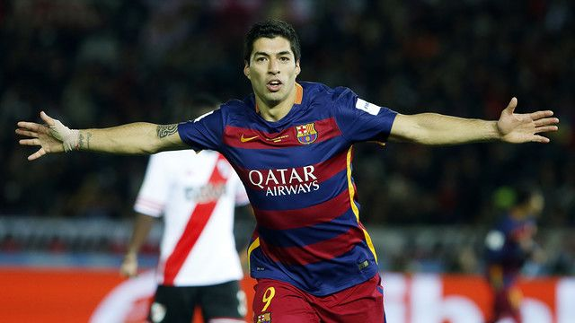 2015, MVP in both the semi-final and final of the Club World Cup, and the top scorer in the competition, part of the amazing threesome, with five goals, Luis Suárez could not have wished for a better end to 2015, a year in which he has played a key role in the conquest of a stunning five major titles for FC Barcelona. These last twelve months have seen the Uruguayan score more goals (46) than in any other year of his illustrious career in European football. LOL! / MIGUEL RUIZ - FCB