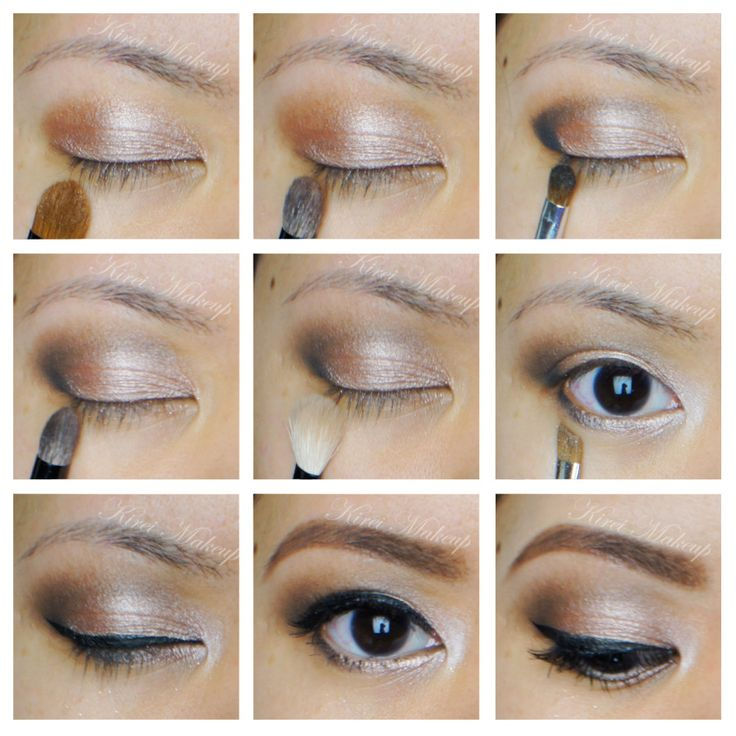 1. I prepped my eyelids using Urban Decay Primer Potion in Sin.  2. Sidecar all over the eyelid.  3. I applied Buck on my crease using Smashbox Bullet Crease brush.  4. Using a small shader brush, I applied Creep on the outer V and lightly dragging it to the crease.  5. , I blended my crease.  6. I applied Naked lightly under the brow, and Sin on the inner corner of my eyes.  7. I applied Creep on the outer half of my lower lid, and Sidecar on the inner half