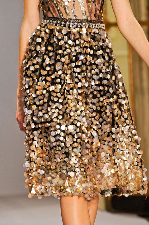 Collette Dinnigan - BRING ME MY PAILLETTES!! no no! Not the Silver ones!! THE GOLD ONES!