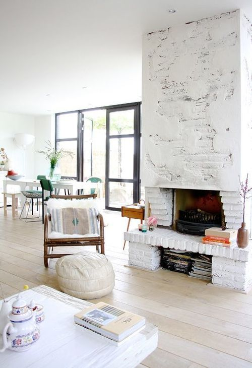 too bad our fireplace is on the ground, i'd love a seat in front of it. --- the chair is awesome.