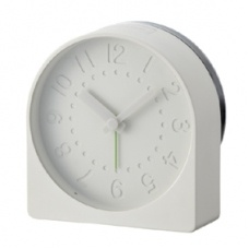 Bell Alarm Clock $84.95 - A contemporary alarm clock that draws inspiration from traditional design.