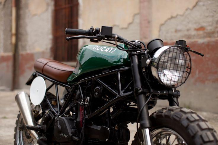 Moto-Mucci: DAILY INSPIRATION: ReD Bike Ducati Custom