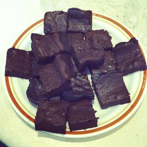 Keto Brownies  4 Eggs 5 Tbsp coconut oil 2 tsp Vanilla Extract 1/2 Cup Salted Butter 8 Tbsp Cocoa Powder 8 Tbsp Cream Cheese 1/2 tsp baking powder 1 cup Truvia  Mix all the ingredients together, place in a 8x8 Pan. Bake on 350 for 35ish minutes. Cut into 16 pieces  Calories: 115 Fat: 11.1 Carbs: 3.8 Fiber 1.0 Protein 2.7  Heres the link for anyone who wants to see the size and how many you get : http://imgur.com/a/3ZXBS