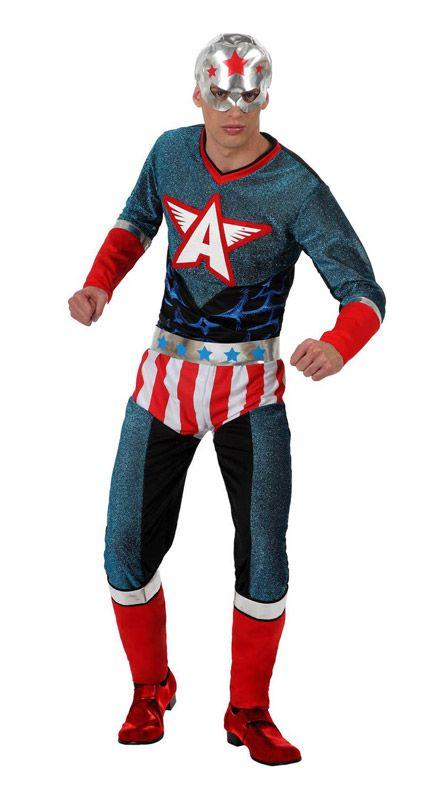 Disfraz Capitán América