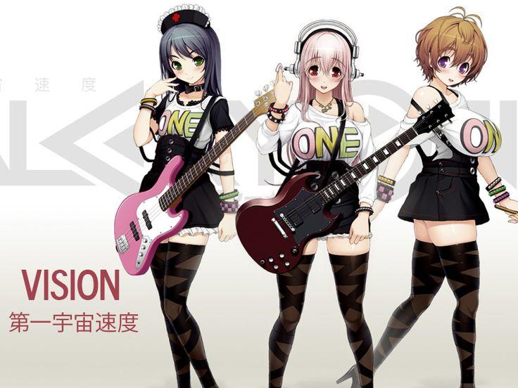 Super Sonico - SoniComi (Nitro+) Ilustrador: Tsuji Santa