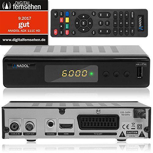 Anadol ADX 111c HD digitaler Full HD Kabel Receiver (HDTV, DVB C / C2, HDMI, SCART, Mediaplayer, USB 2.0, 1080p) [automatische Installation]   schwarz sieht in Design, Funktionen und Funktion gut aus. Die beste Leistung dieses Produkts ist in der Tat einfach zu reinigen und zu kontrollieren. Das Design und das Layout sind absolut erstaunlich, die es wirklich interessant und schön machen.....