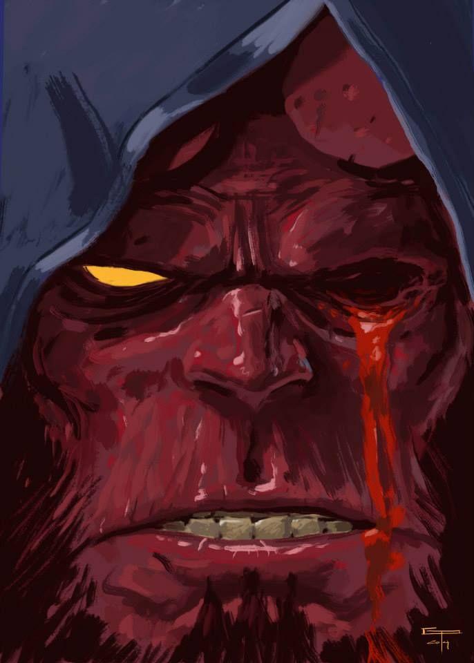 Hellboy by German Peralta *