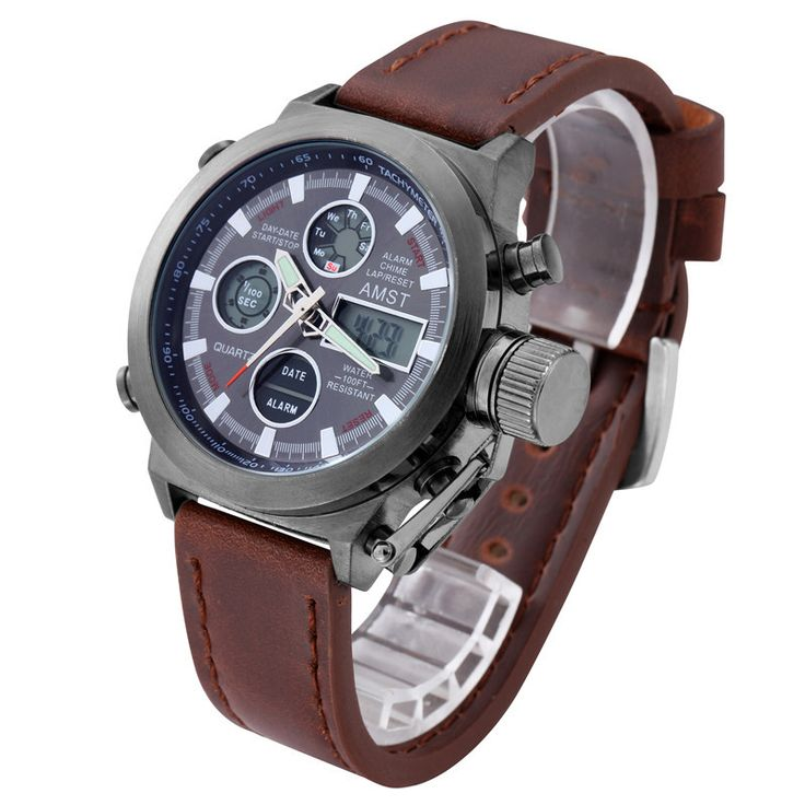 Unique Mens  Sports Army Watch