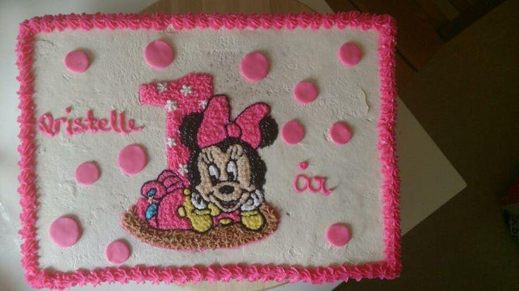Minnie Mouse som bebis