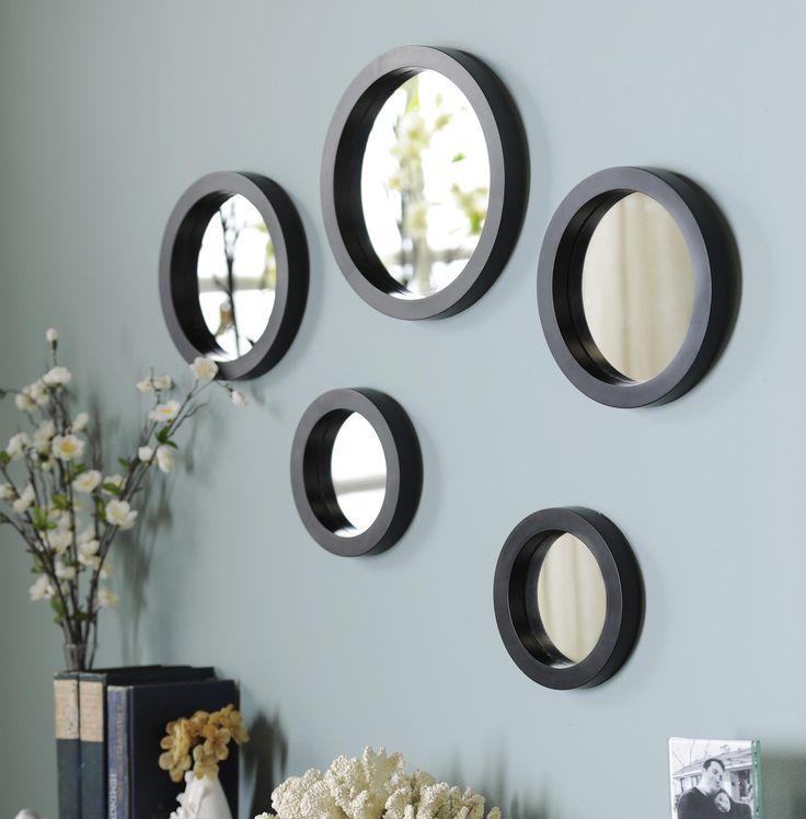 Circle Mirror, Set of 5