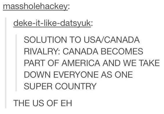 THE U.S. OF EH. Haha