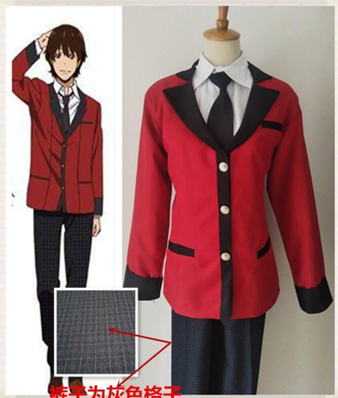 Loyal 2017 New Anime Charlotte Nao Tomori Red School Uniform Cosplay Costume Anime Costumes