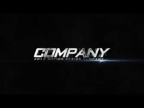 Pro Company Logo Intro c4d Project Template - YouTube