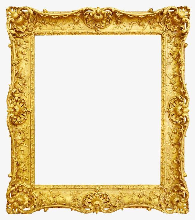 Gold Photo Frame French Photo Frame Frames Frame Word Png Image Antique Picture Frames Gold Photo Frames Antique Pictures