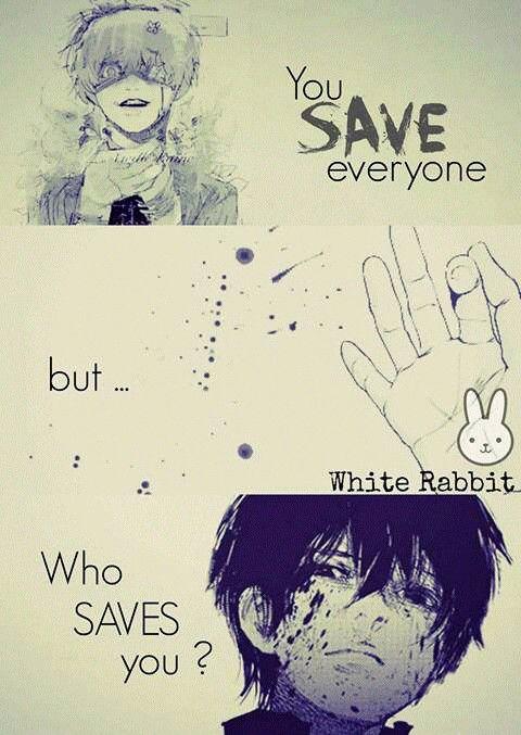 Traduction FR : Tu as sauvé tout le monde, mais qui t'as sauvé? || Tokyo Ghoul                                                                                                                                                                                 More