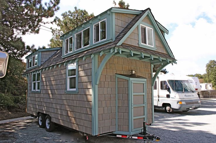 """Molecule Tiny Homes New craftsman style bungalow 8' 6"""" X"""