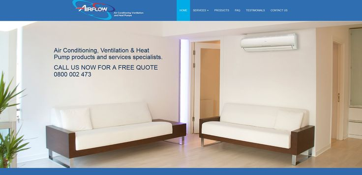 Welcome to Airflow Air Conditioning, Ventilation & Heat Pumps.  Airflow is a specialist provider of Air Conditioning, Ventilation and Heat Pump products and services.  Airflow covers the greater Auckland and Hamilton areas.
