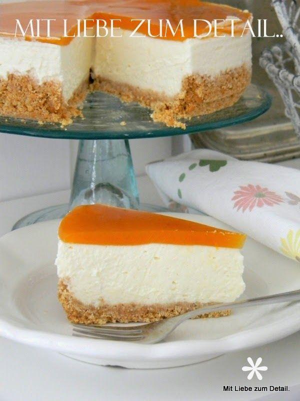 Pfirsich-Topfen-Torte..