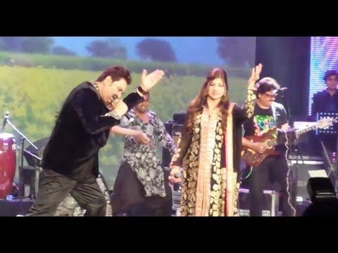 KUMAR SANU & ALKA YAGNIK LIVE IN ABUDHABI (LATEST) - YouTube