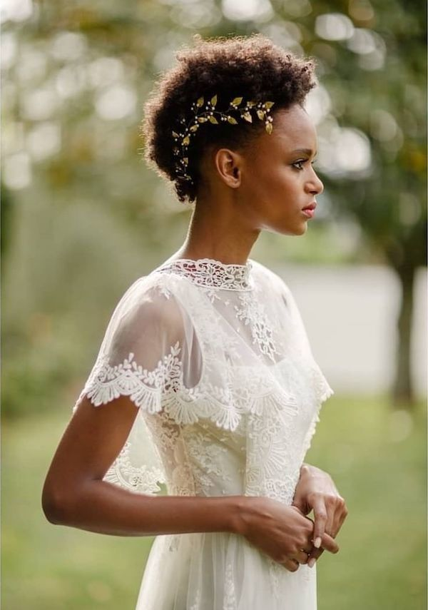 47 Wedding Hairstyles For Black Women To Drool Over 2019 Be Trendsetter Short Wedding Hair Shaved Side Hairstyles Bridesmaid Hair Short