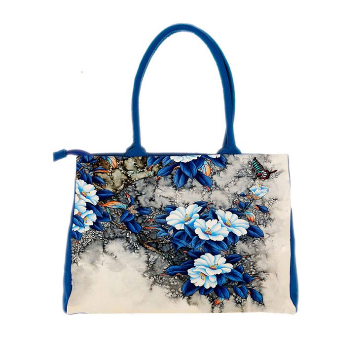 bags handbags women famous brands Digital Printing beautiful floral canvas shoulder bags bolsa feminina bag female B006 #>=#>=#>=#>=#> Click on the pin to check out discount price, color, size, shipping, etc. Save and like it!