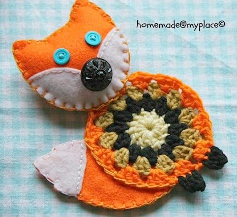 homemade@myplace: Ginger the Fox !!!